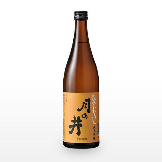 月の井 純米吟醸 ひやおろし (720ml)