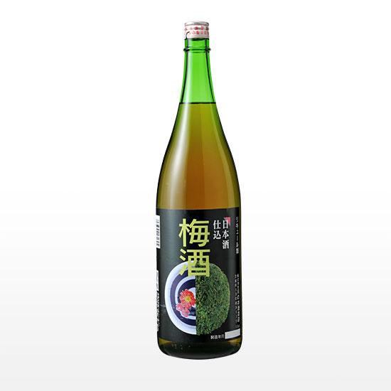 日本酒仕込み 梅酒 (1.8L)