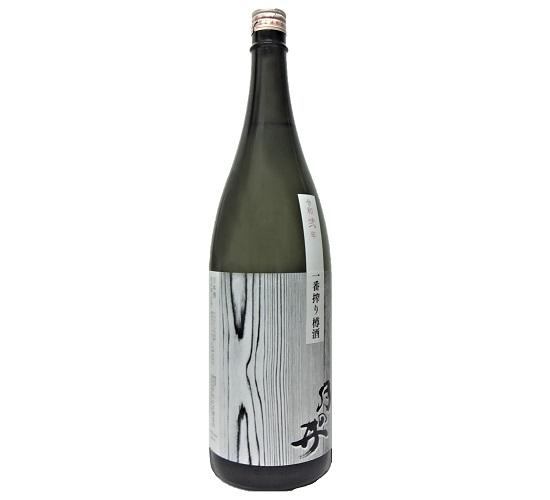 【新酒】 月の井 純米酒<生> 一番しぼり樽酒 (1.8L) ※クール冷蔵便
