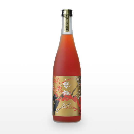 日本酒仕込み梅酒原酒 紅い恋梅 (720ml)