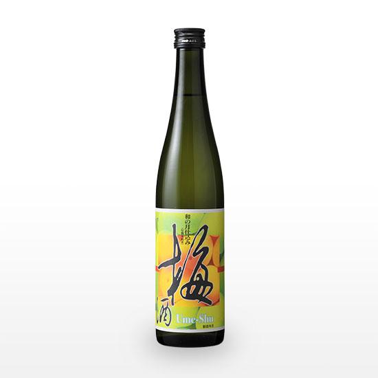 【原料全てが有機】日本酒仕込み オーガニック梅酒 (500ml)