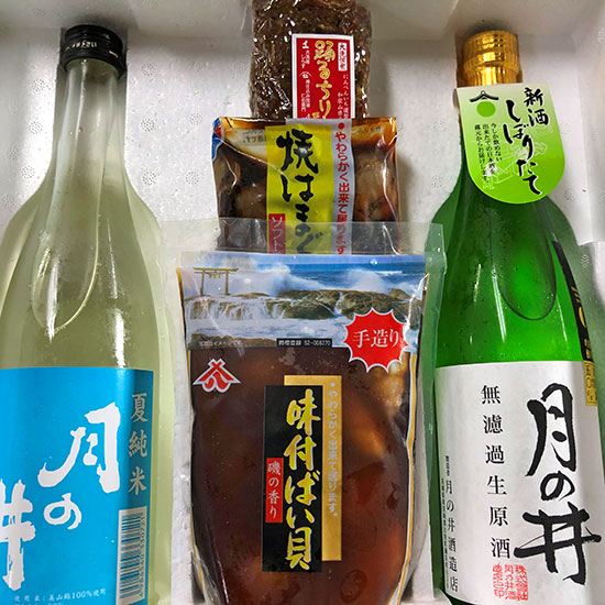 潮風の酒蔵限定酒肴【大洗セット】