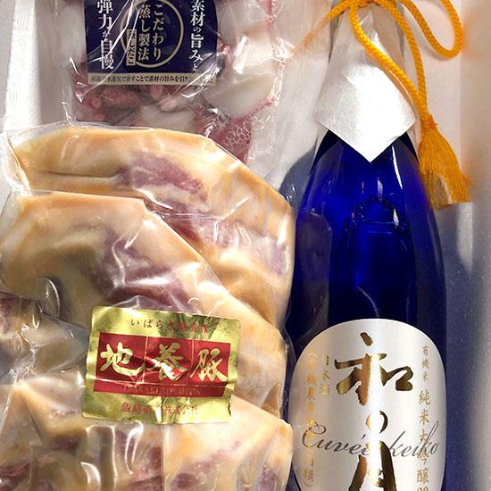 潮風の酒蔵限定酒肴【茨城セット】